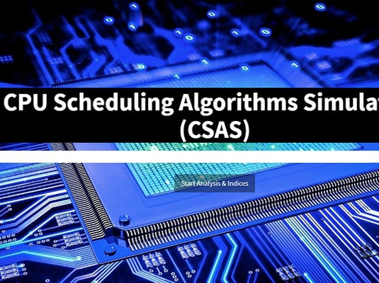 CPU Scheduling Algorithm Simulation Software