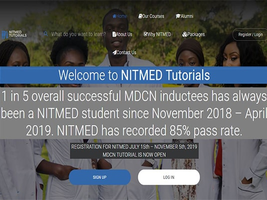 NITMED TUTORIALS WEBSITE
