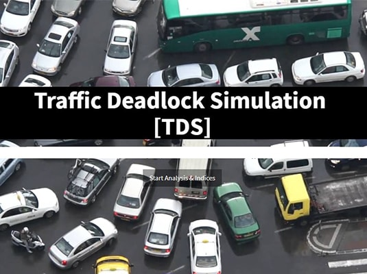 Traffic Deadlock Simulation Software